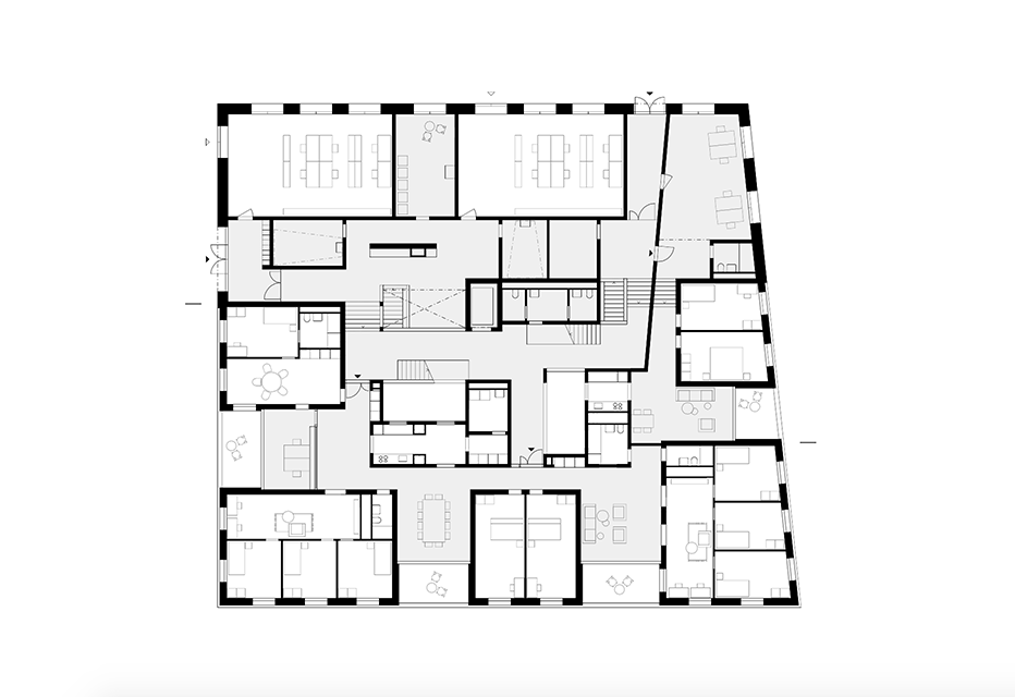 Unique Office Building Floor Plan Metal Office Buildings Floor Plans Second Sun moreover House Plan 1481 B The CLARENDON B in addition 17 Top Photos Ideas For 550 Square Feet Floor Plan likewise Hwepl69617 moreover 3821 Square Feet 5 Bedrooms 3 5 Bathroom Ranch House Plans 3 Garage 9384. on building plans 2 bedroom apartment