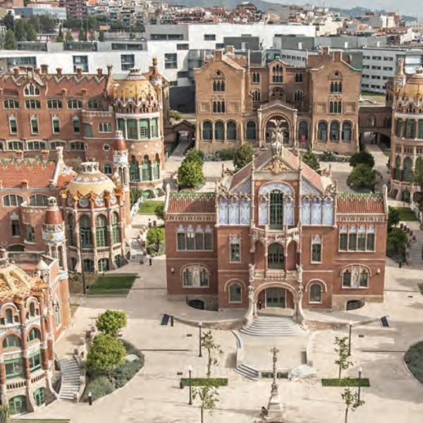 Urbanització recinte hist òric Hospital de Sant Pau